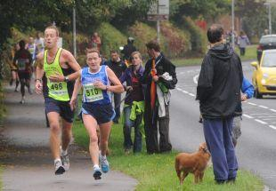 Photos from Taunton 10k, September 25, 2011.