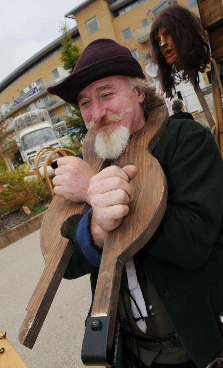 Photos from the BBC History Festival, Taunton, October 15, 2011.