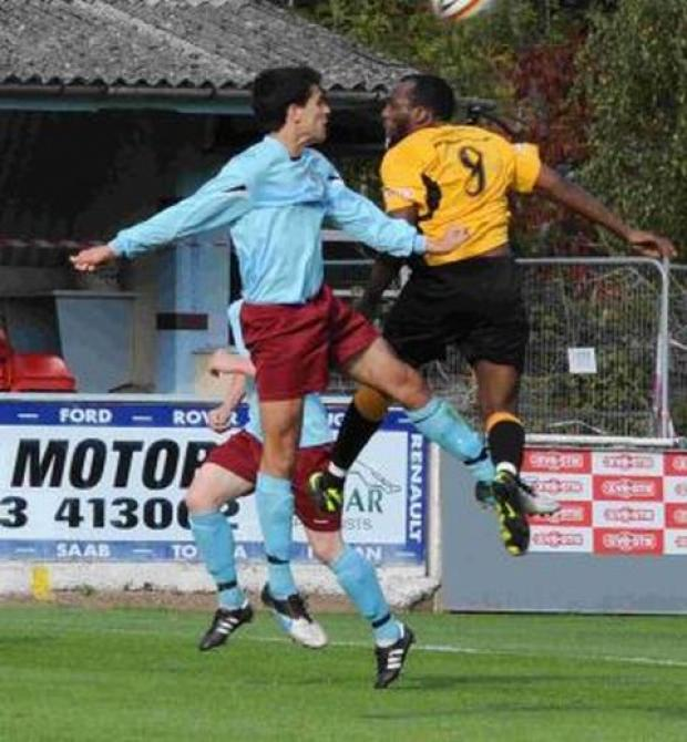 FOOTBALL: Taunton see off nine-man Evesham