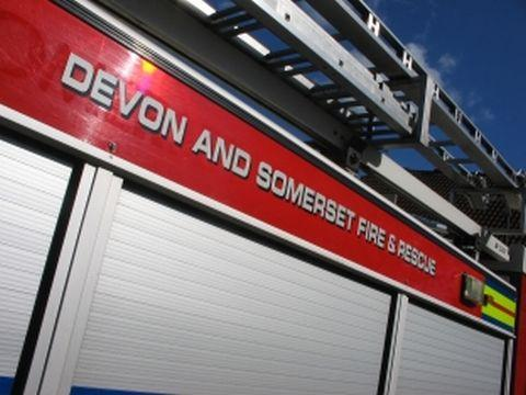 Pan fire breaks out at Taunton building