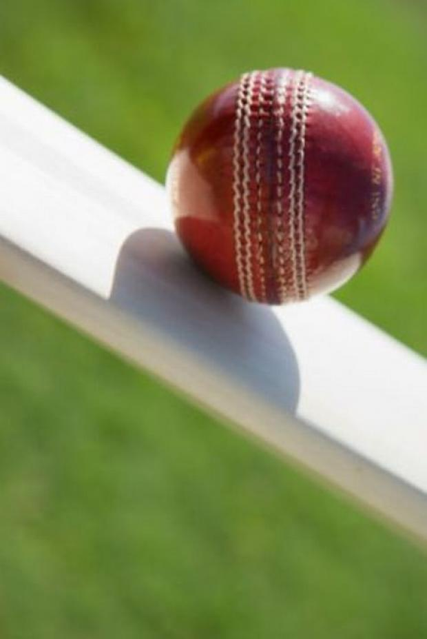 CRICKET: Somerset finish with a flourish