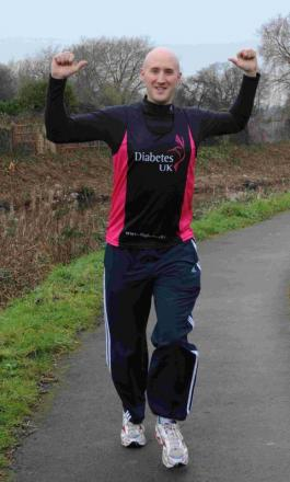 Kieran Neale is doing three half marathons in three weeks.