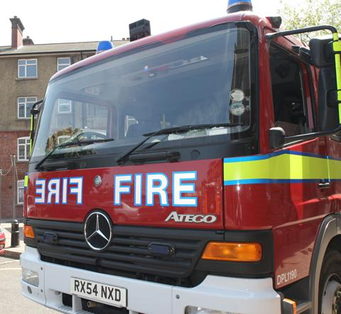 Man rescued following Wellington house fire