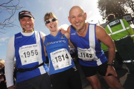 Photos from Taunton Marathon 2012