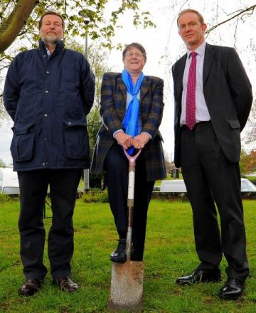 Steve Swan, Sue Kilbey and Ian Guy