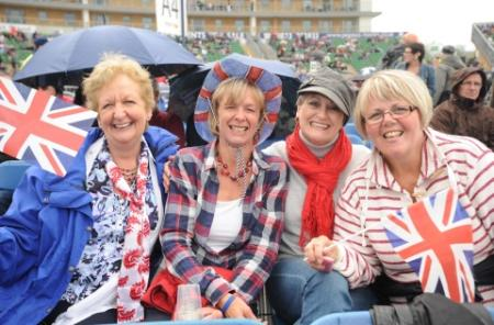 Photos from Sir Elton John's concert at the County Ground, Taunton, June 3, 2012