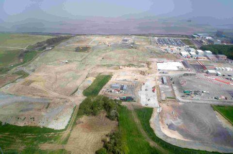 Somerset County Gazette: The changing face of Hinkley Point