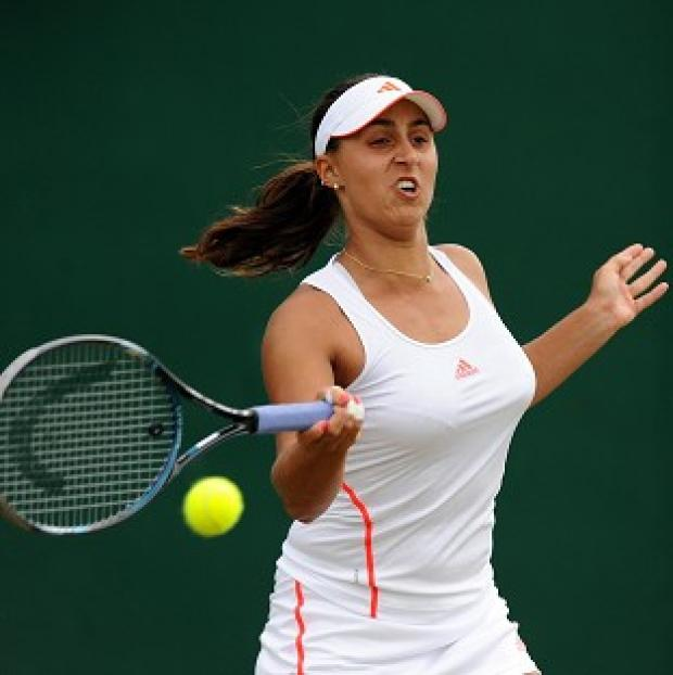 Tamira Paszek is through to the last eight at Wimbledon