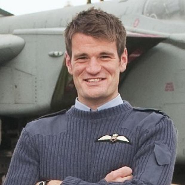 Flight Lieutenant Hywel Poole died following the Tornados crash