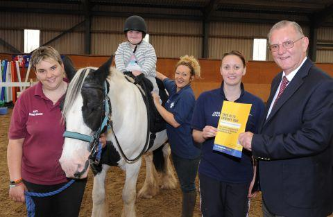 New learning site for children at Conquest Riding Centre