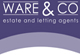 Ware & Co Estate Agent