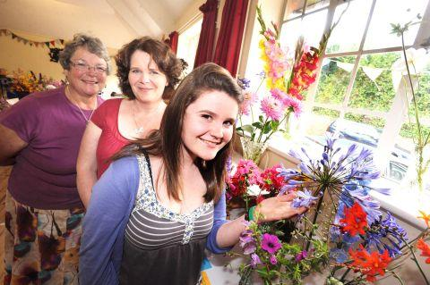 Quality fruit, veg and flowers at top Somerset shows