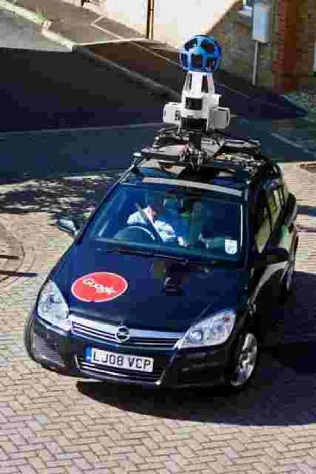 Google camera car roams Taunton streets