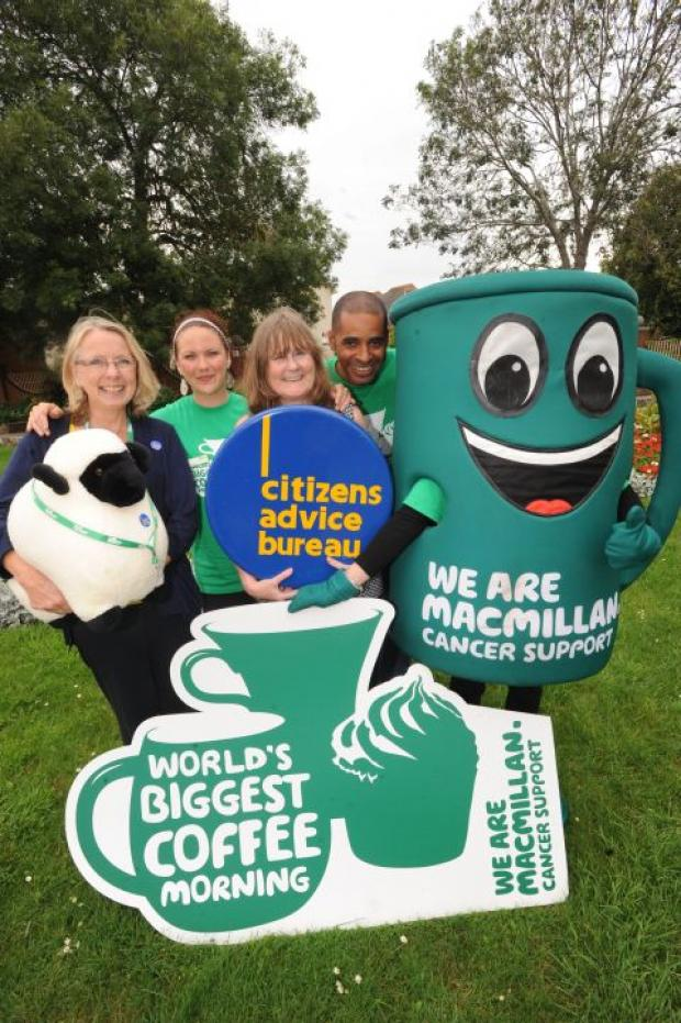 Drink coffee, eat cake and do your bit for Macmillan Cancer Support
