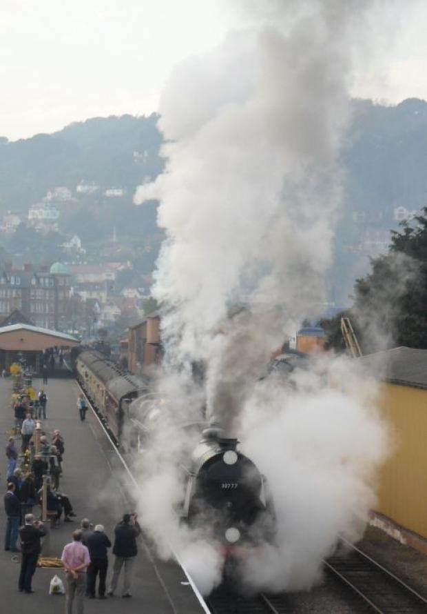 Steam out of summer on the West Somerset Railway