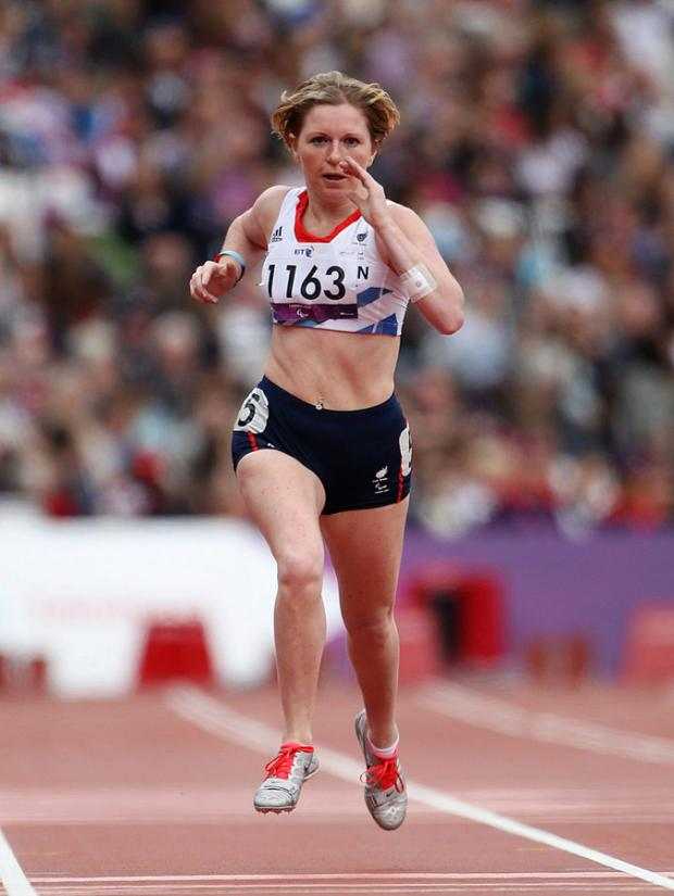 RIO TARGET: Hazel Robson, who failed to medal in London 2012
