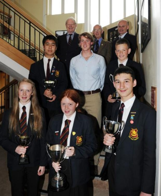 Prize night for Taunton students