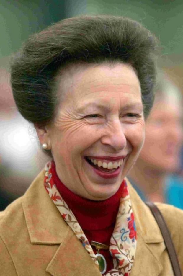 Princess Anne in Watchet