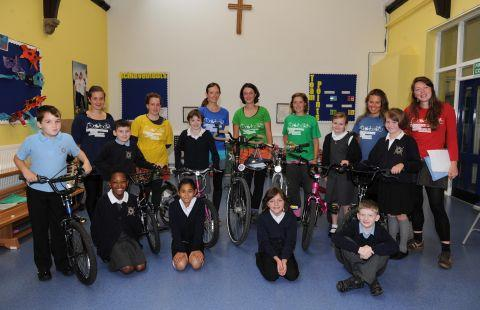 Green's the way for St Andrew's pupils