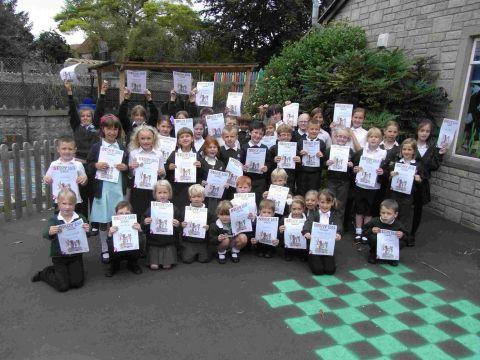 Pupils At Curry Rivel Like A Good Read Somerset County Gazette