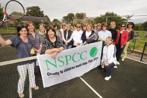 NSPCC benefits from Kingston St Mary tennis match
