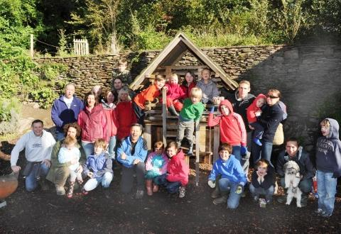 Family adventure at Hestercombe