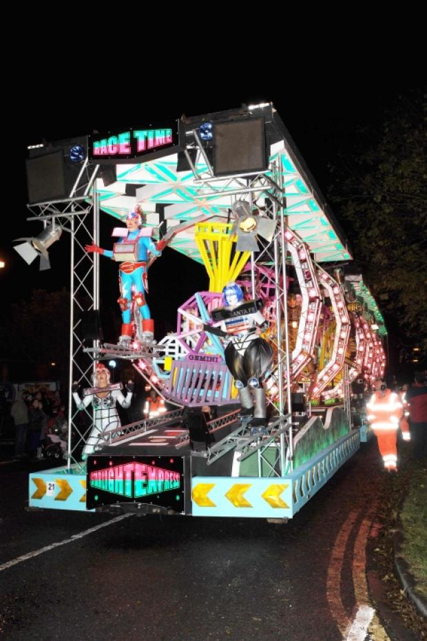 Gemini Carnival Club's entry at Chard Carnival will be among those in Taunton