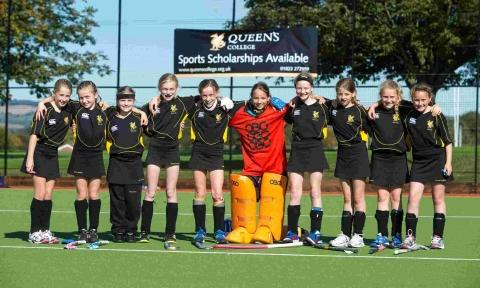 Hockey joy for Queen's College girls