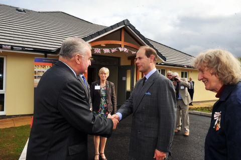 Langford Budville Village Hall Royal visit proves a success