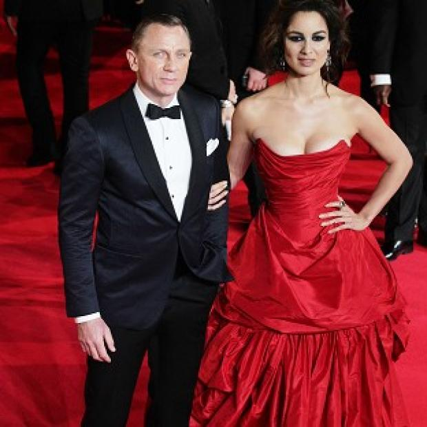 Somerset County Gazette: Berenice Marlohe said Daniel Craig was 'shy' about stripping off for their shower scene