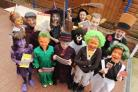 Roald Dahl day at St Andrew's Primary School