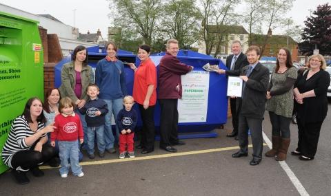Recycle and raise money at Sainsbury's