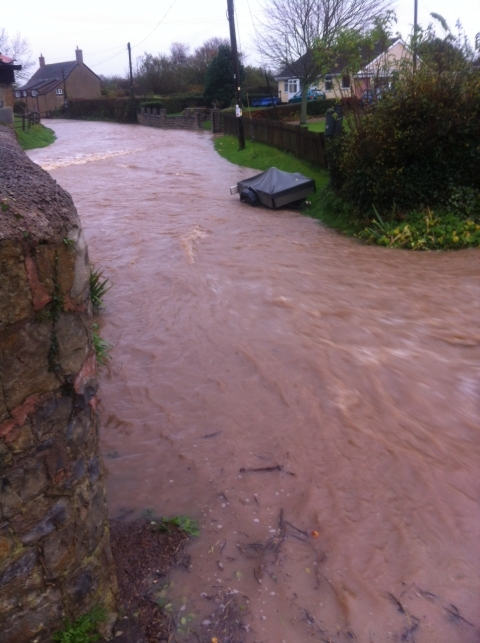 Flooding in Shurton.