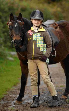 Proud Brownie Louisa Souter-Frost.