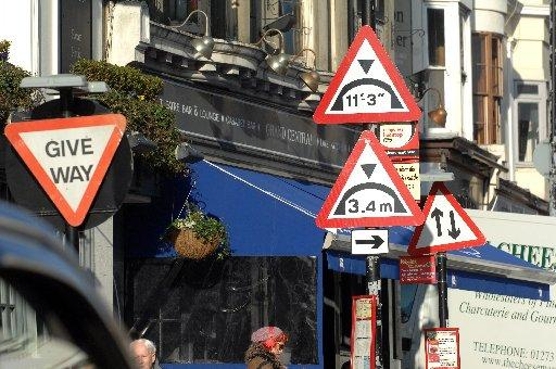 TRAFFIC signs could become a thing of the past in parts of Minehead.