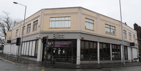 The deserted Bliss nightclub on East Street