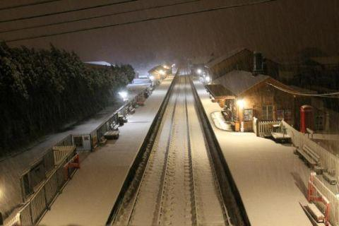 Somerset County Gazette: Bishops Lydeard Railway Station. January 23, 2013.