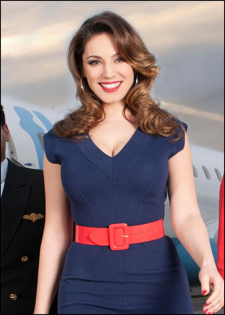 Somerset County Gazette: Kelly Brook for Sky Go Extra.JPG