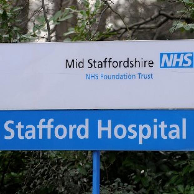Somerset County Gazette: A report into serious failings at Mid Staffordshire NHS Foundation Trust is being published
