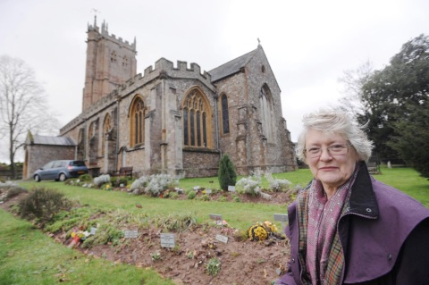 Churchwarden Judith Salter says she hopes those responsible feel a sense of shame.