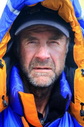 Exford explorer and national treasure, Sir Ranulph Fiennes. PHOTO: Liz Scarff