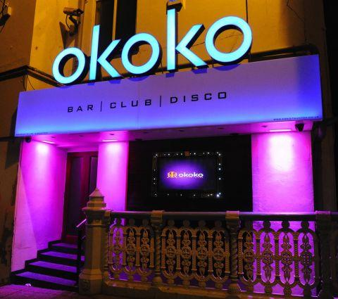 Okoko nightclub on Bridge Street.