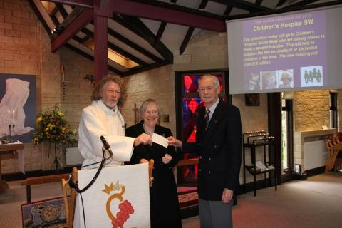 Generous church-goers raise £900 for children's charity