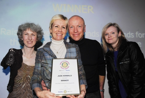 Pride of Somerset Youth Awards: Jude keeps on riding