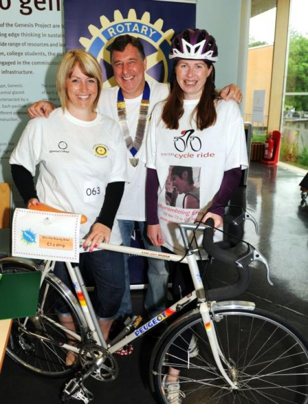 Rotary Club of Taunton staging popular 50/50 charity cycle ride