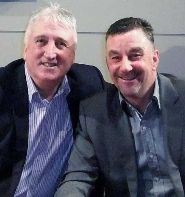 FOOTBALL: Liverpool legends David Johnson and John Aldridge in good form at Taunton