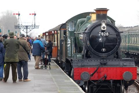 Somerset County Gazette: THE West Somerset Railway attracts a lot of visitors to Minehead. PHOTO: Steve Guscott.