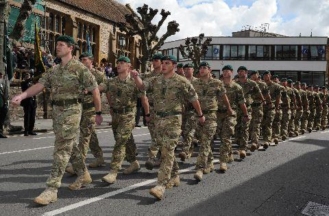 STAYING: It is understood 40 Commando will remain in Norton Fitzwarren