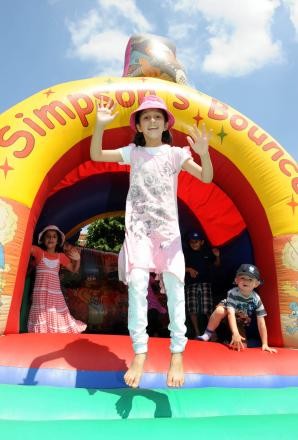 Summer fete at St Andrew's Church School, Taunton