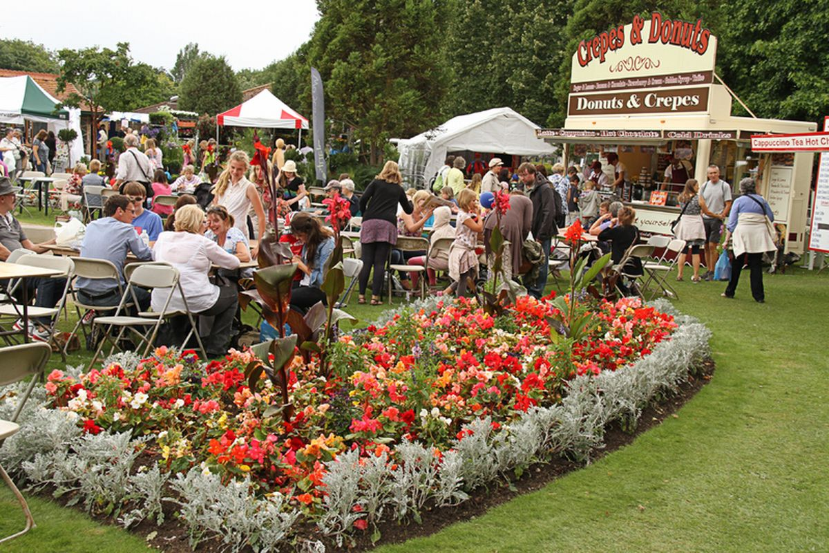 Taunton Flower Show stays in Vivary Park - but ticket prices go up